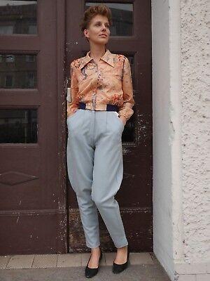 Fedele Casa Moda Cherie Woll-pantaloni 36 Cavaliere Pantaloni 90er True Vintage Pants 90s Avantgarde-mostra Il Titolo Originale Prezzo Ragionevole