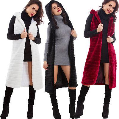 Cappotto donna in camoscio Cappuccio pon pon Cappotto invernale con cappuccio in pelliccia sintetica