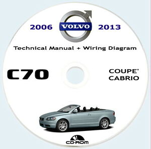 VOLVO C70 2a gen.(P1) Technical Manual and Wiring Diagram ...