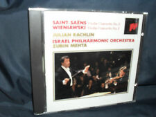 Saint-Saëns / Wieniawski - Violin Concertos -Rachlin / Israel PO / Metha
