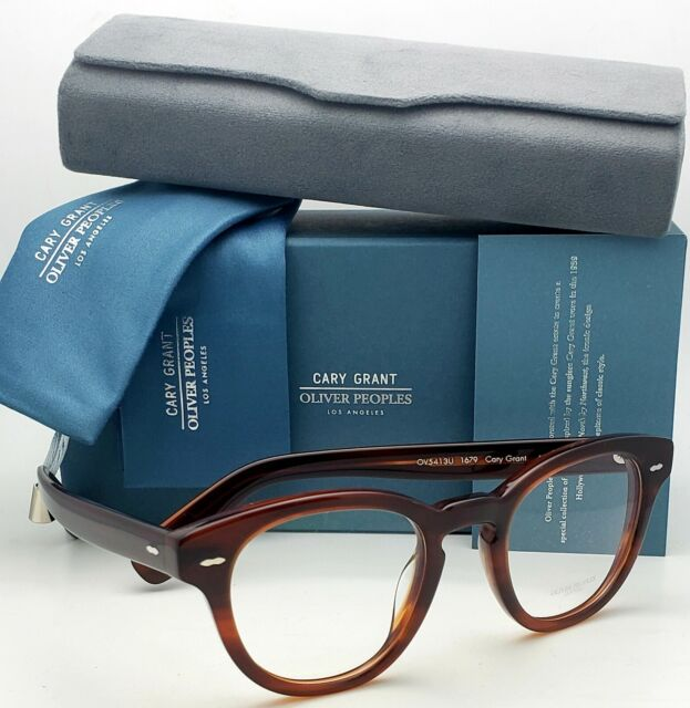 Oliver Peoples CARY GRANT OV 5413U GRANT TORTOISE 48//22//145 unisex Eyewear Frame