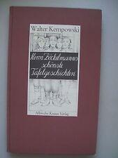 Walter Kempowski Herrn Böckelmanns schönste Tafelgeschichten 1983
