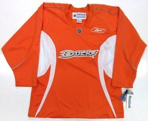 men's anaheim ducks reebok orange alternate premier jersey