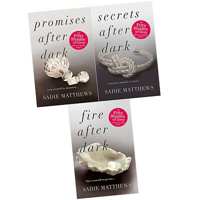 Sadie Matthews Collection 3 Books Set Fire Secrets Promises