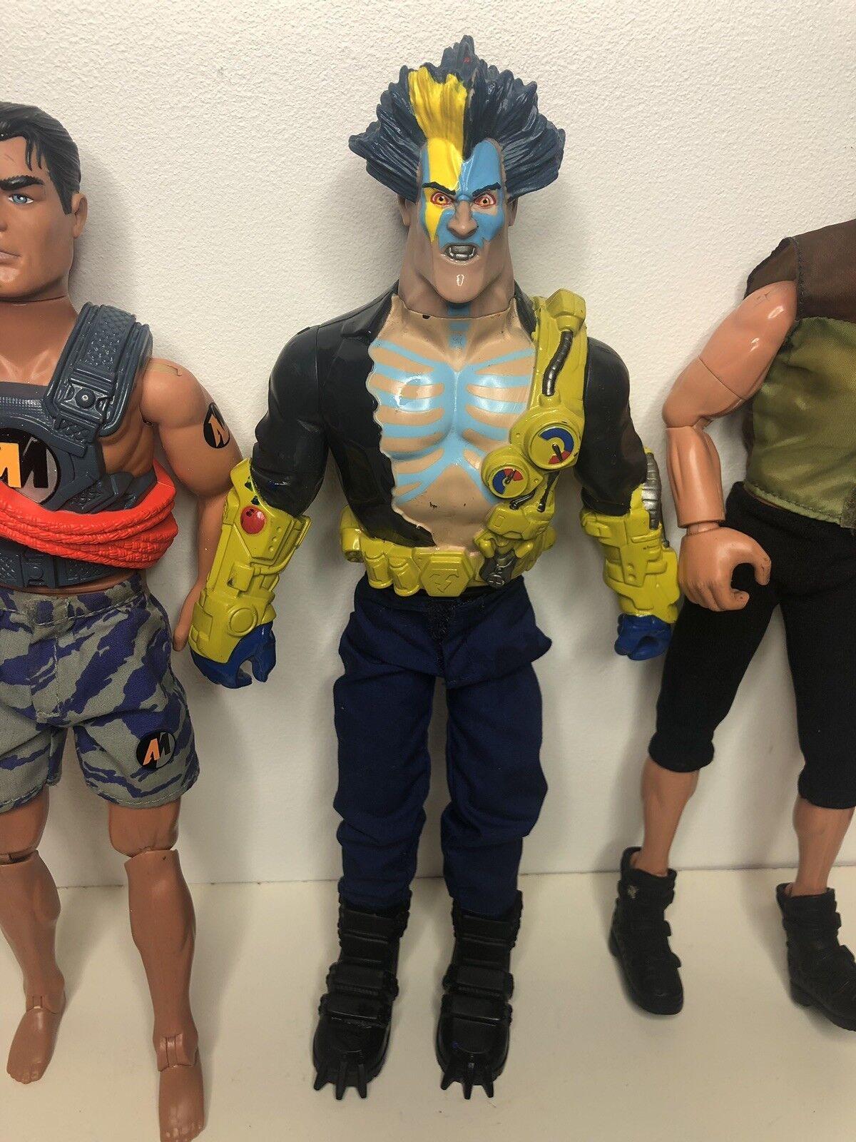 Job Lot Action Man Figures In Good Condition Rare Rare Rare Figures Villain Saw Camo Toy d7a253