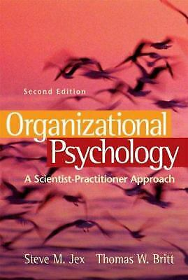 Organizational Psychology : A Scientist-Practitioner Approach-ExLibrary