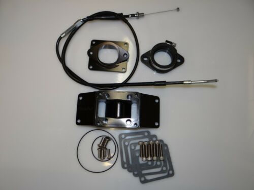 Chariot Banshee BLACK 2 into 1 Intake Kit With Cable 36-41carb