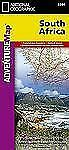 National Geographic Adventure Map: South Africa 3204 by National Geographic...