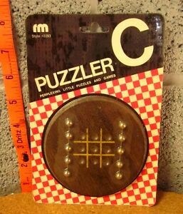 PUZZLER-C-skill-game-Romany-Merchandise-1974-last-man-standing-NWT