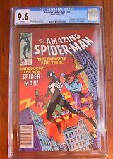 AMAZING SPIDER-MAN #252 CGC 9.6 White Pages NM+ 1st Black Costume Venom
