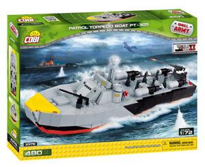 Cobi 2376 - Small Army - Patrol Torpedo Boat Pt-305 - Neu