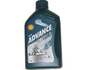 Shell-Advance-Racing-M-2-Stroke-Oil-1L-Rotax-Max-Iame-X30-TKM-UK-KART-STORE