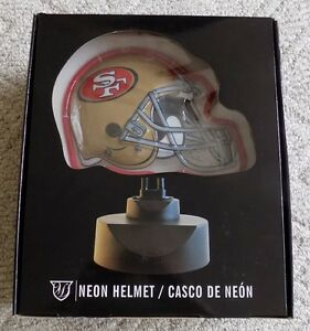San Francisco 49ers Neon Helmet Desk Light Ebay