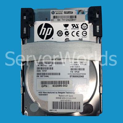 "655708-B21//656107-001//614829-002//632085-002-HP 500GB 7200RPM 2.5/"" SATA HARD DR"