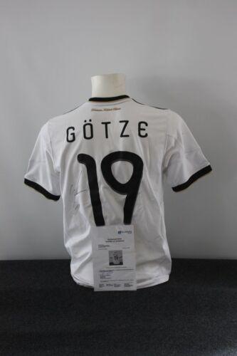 Borussia Dortmund DFB BVB Deutschland Trikot Mario Götze signiert 176