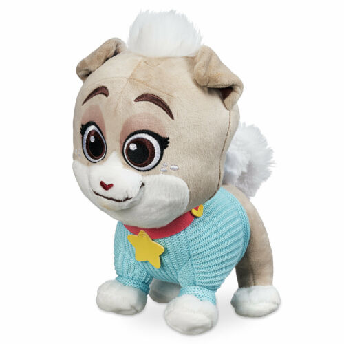 DISNEY STORE PUPPY DOG PALS KEIA PLUSH PUPPY DOG IN KNITTED SWEATER SO CUTE SOFT