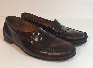 de72bdff68e Cole Haan Men s Oxblood Burgundy Penny Loafers Size 12 N Narrow ...