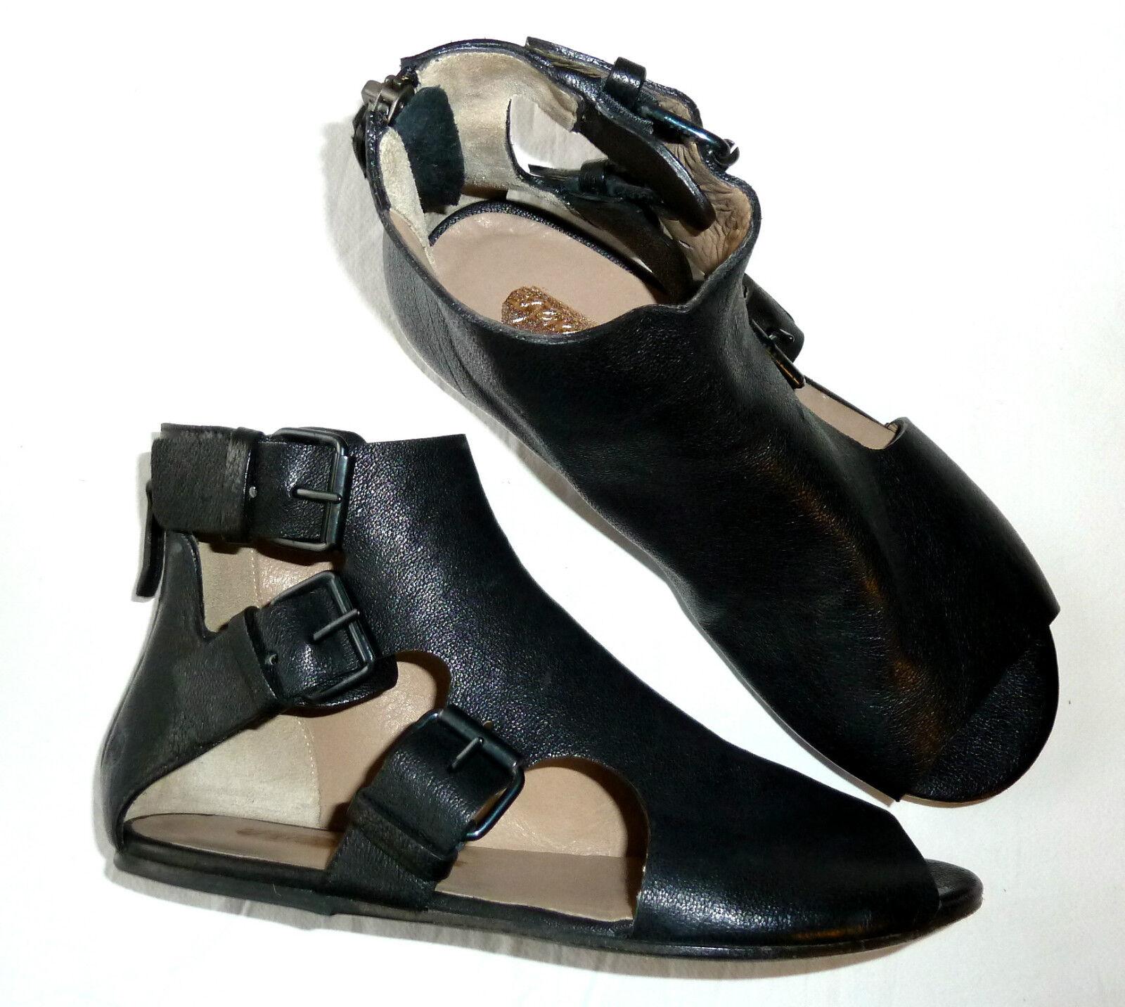 Marsell Sandalen, Leder, schwarz, schwarz, schwarz, Gr.36 (37), NP 4fcb5f