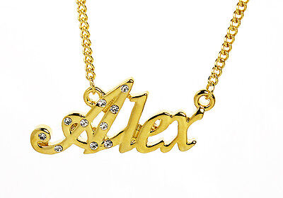 18K Gold PlatedBest Friend Jewelry Personalized Gifts Name Necklace Heather
