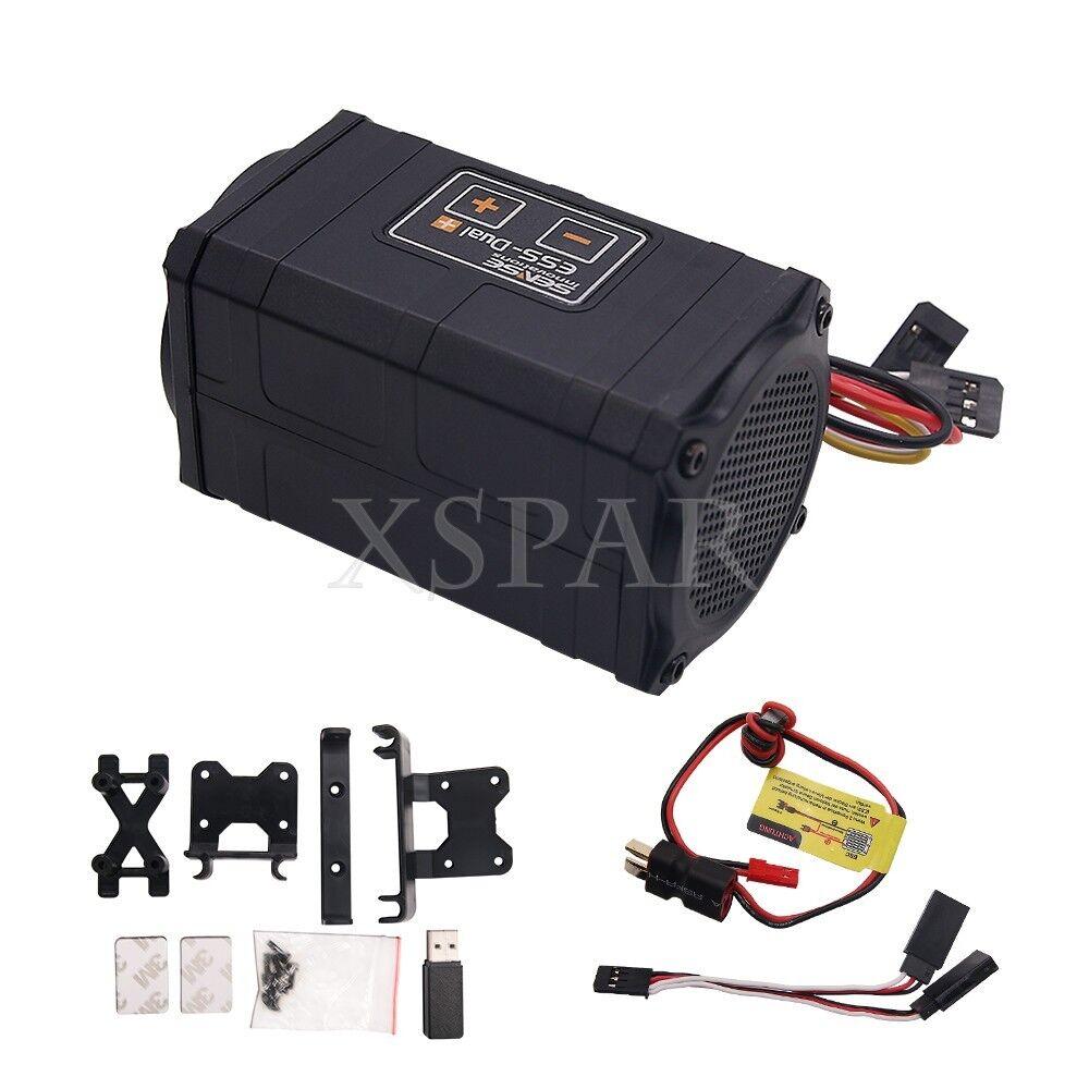 Motor De Sonido Ess Doble Real Simulador De Plus Axial TRAXXAS TRX-4 SCX10 SCX10 II
