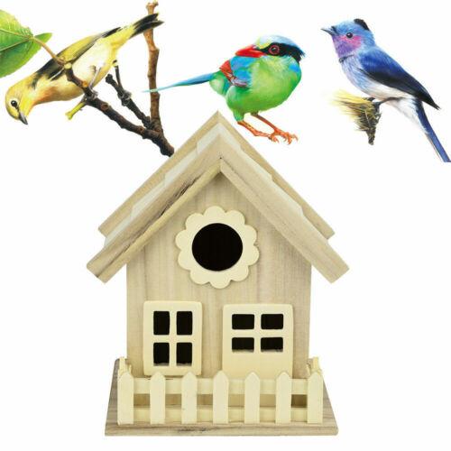 Garden Patio Bird Baths Feeders Tables Bird House Nest Dox Wooden Nest House Bird Wood Birdhouse Garden Decor Mini Size Bortexgroup Com