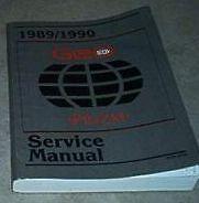1990 Chevy Chevrolet GEO PRIZM Service Shop Repair Manual FACTORY BOOKS