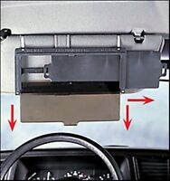 No Glare Sun Visor 3-way Extending Extendable Shield Car Extend Dual Auto