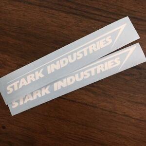2x-Stark-Industries-Decal-Vinyl-Window-Die-Cut-Sticker-Marvel-Iron-Man-Comic