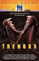 Tremors Movie Poster - 11 X 17 Inches - Kevin Bacon, Monster Horror