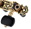thumbnail 4 - Alice AO-020HV3P 1Pair Classical Guitar Tuning Key Gold /Black Plated Tuner Pegs