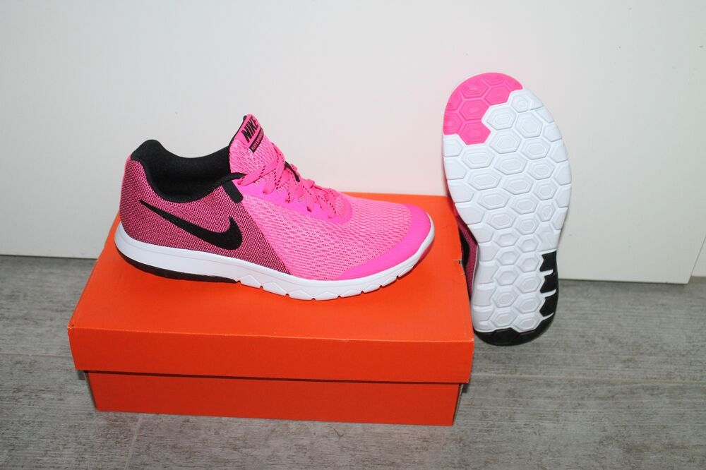 Nike Wmns Flex Experience RN 5 Sneaker Femmes Chaussure Rose Noir Taille 37,5 Neuf-