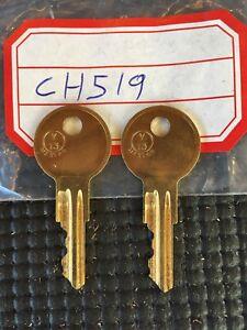 LL71 2 NEW KEYS FOR TOOL BOX KEY CODE LL71