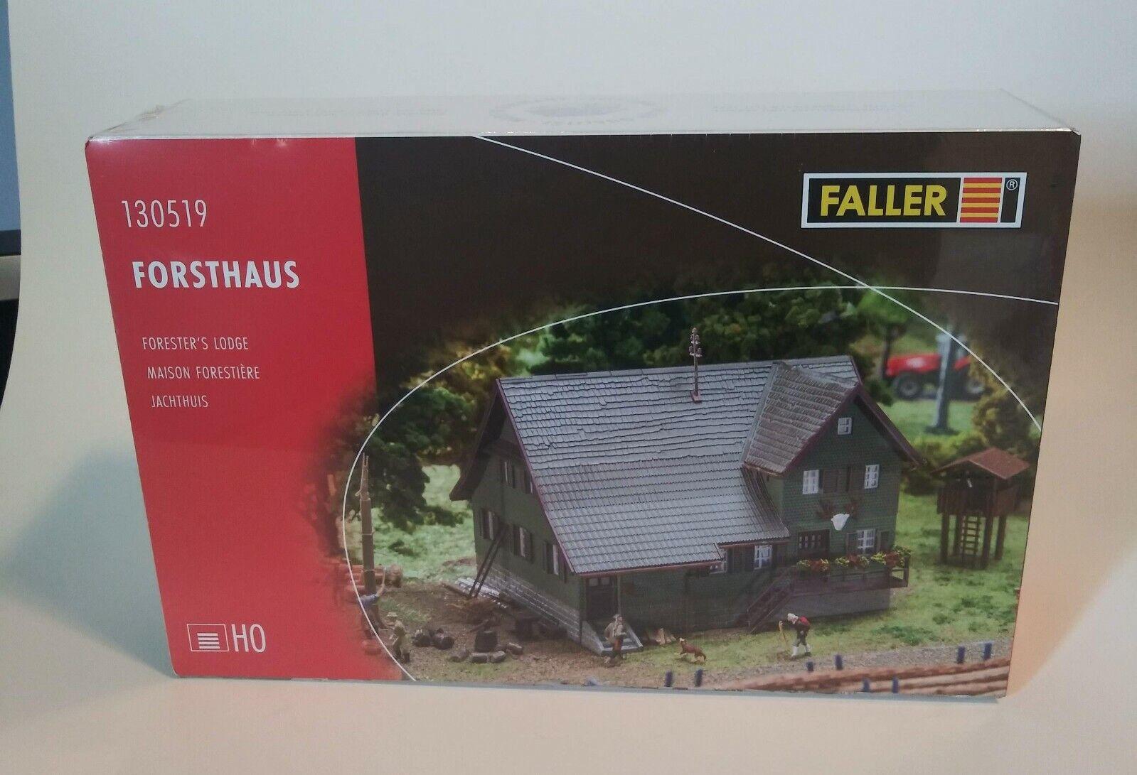 FALLER Forester's Lodge HO Model Kit MIB (Sealed)