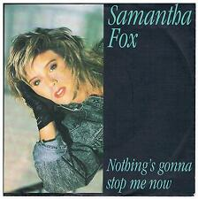 "Samantha Fox-Nothing's gonna stop me now/Dream city/7"" Single von 1987"
