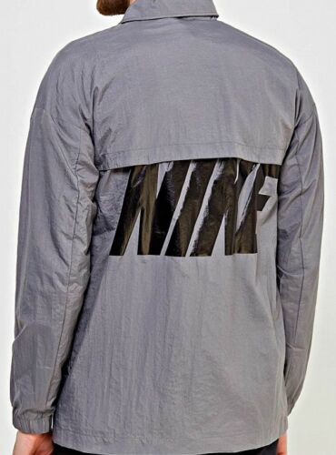 AUTHENTIC NIKE MEN'S NSW WOVEN HYBRID SNAP BUTTON WIND JACKET 885953036