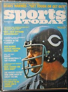 brand new cdbab 6006c Details about 1973 Sports Today-Chicago Bears Dick Butkus