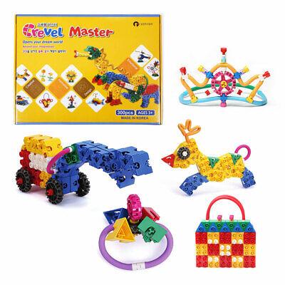CREVEL TOY 300pcs Creative Thinking Educational Block Toy Bricks Block Boys Kids | eBay