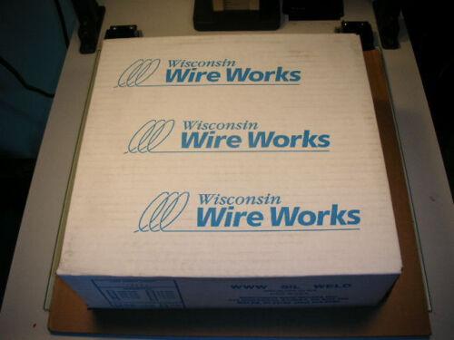 "Silicon Bronze Welding Wire 1//16/"" 0.062/"" 30# Sil-Weld Wisconsin Wire Works USA!"