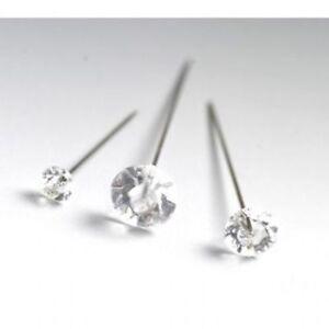 100-Pedreria-Diamantes-pasadores-de-novia-Ojales-Ramo-4cm-5cm-Florista