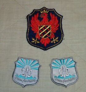 Lotto Patch Toppe Stile Militare - Esercito - Marina - Distintivi