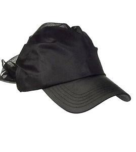 Details about PUMA IN Pointe Cap Bandana Cap Woman Accessories Hats Size XS Black