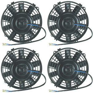 Image Is Loading Quad 8 034 Inch Electric Fans 12v Atv