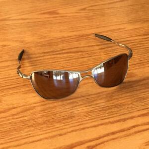 96c6bdc976b Oakley Crosshair 1.0 ~ Titanium Frame ~ Titanium Iridium Polarized ...