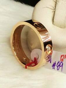 Authentic-Cartier-18k-Gold-Ring-with-Diamond-Size-12-8-9g