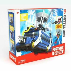 Fortnite Royale Collection Battle Bus 2 inch Figures