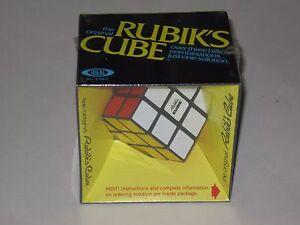 Vintage * THE ORIGINAL * RUBIK'S CUBE * IDEAL * 1980 FACTORY SEALED #2164-2