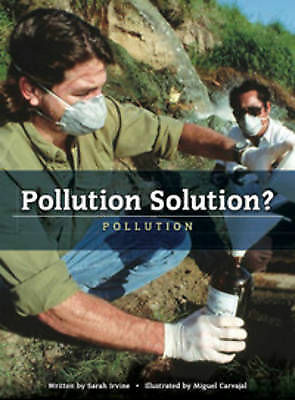 Pollution Solution? (Worldscapes), New, Sarah Irvine Book