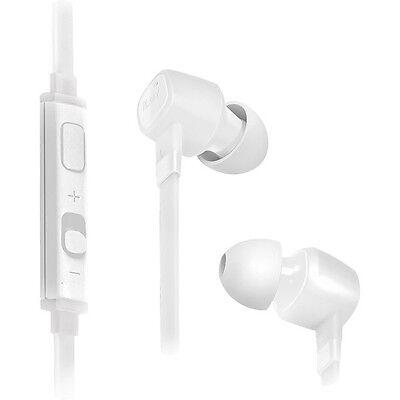 iLuv Jet Turbo IEP386 SpeakEZ Earbuds White Mic Controls for Smartphone