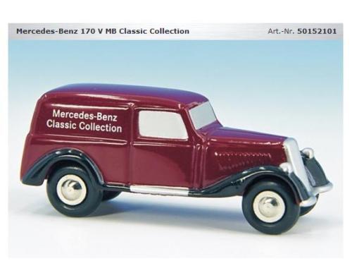 Schuco Piccolo Mercedes 170 V Classic col. Age