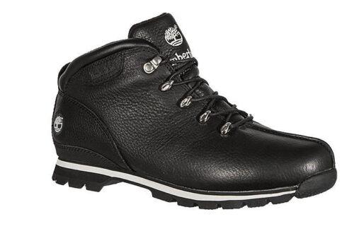 Timberland Splitrock 2 Hommes Véritable Cuir-Trekking Chaussures Noir